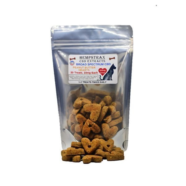 hemp peanut butter dog treats