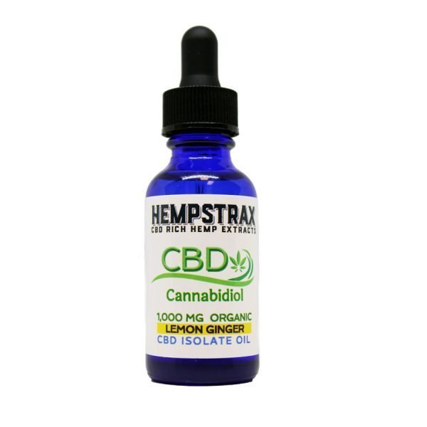 Hempstrax Isolate CBD Hemp Oil Tincture