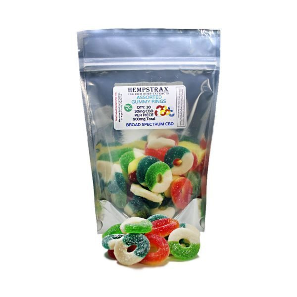 broad spectrum hemp gummy rings