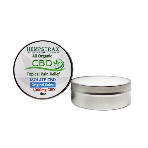 Hempstrax Isolate Topical Salve