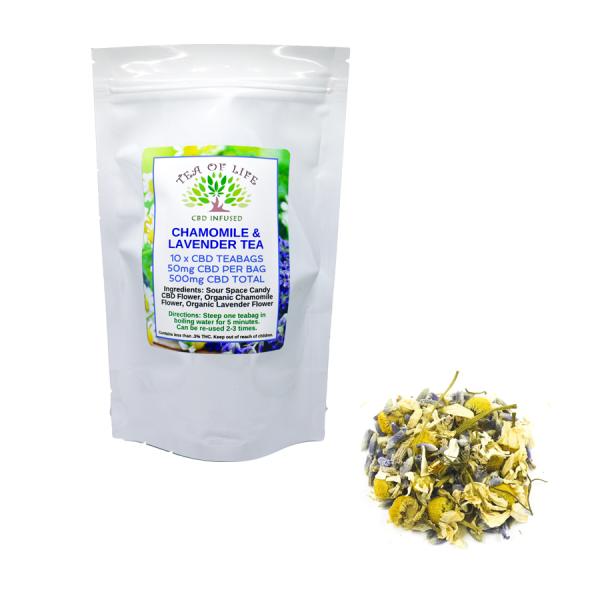 Chamomile Lavender Hemp Tea
