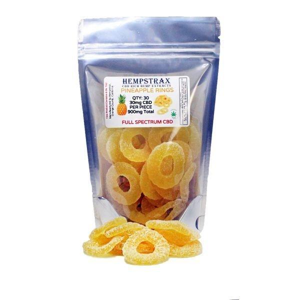 cbd edible gummy rings