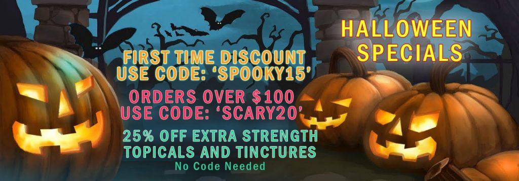 Hempstrax Halloween Sale