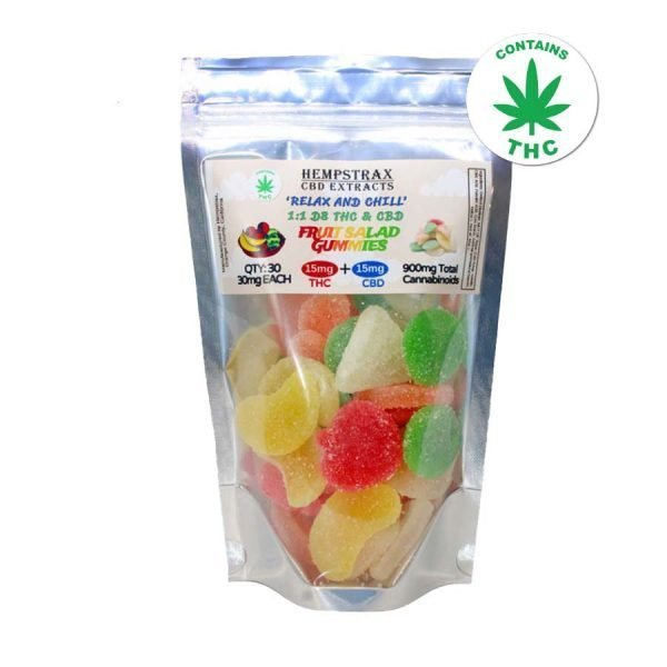 Delta 8 THC / CBD 1:1 Gummies